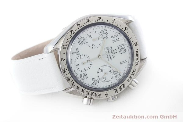 Used luxury watch Omega Speedmaster chronograph steel automatic Kal. 3220A  | 160477 03