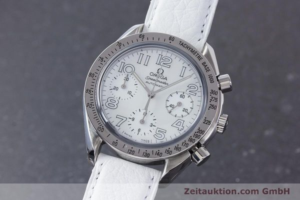 Used luxury watch Omega Speedmaster chronograph steel automatic Kal. 3220A  | 160477 04