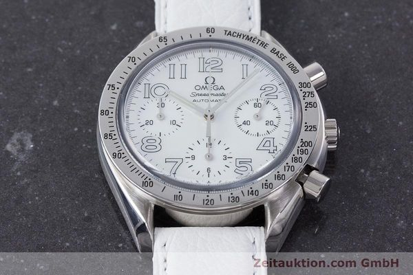 Used luxury watch Omega Speedmaster chronograph steel automatic Kal. 3220A  | 160477 16