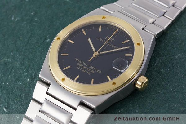 Used luxury watch IWC Ingenieur steel / gold automatic Kal. 887 Ref. 3521  | 160478 01