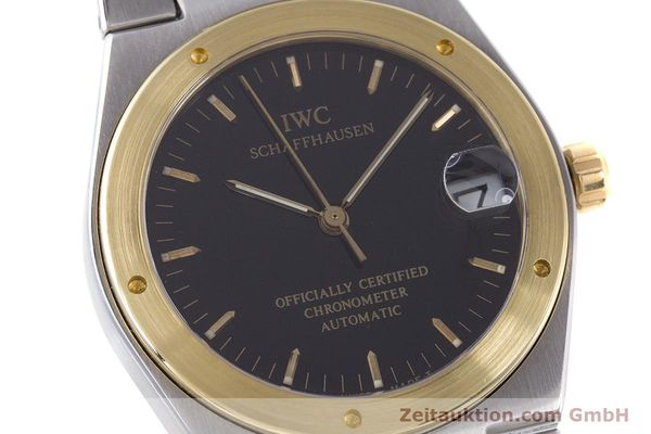 Used luxury watch IWC Ingenieur steel / gold automatic Kal. 887 Ref. 3521  | 160478 02