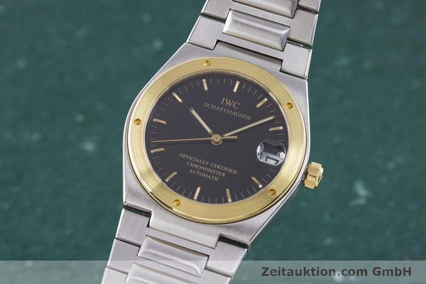 Used luxury watch IWC Ingenieur steel / gold automatic Kal. 887 Ref. 3521  | 160478 04