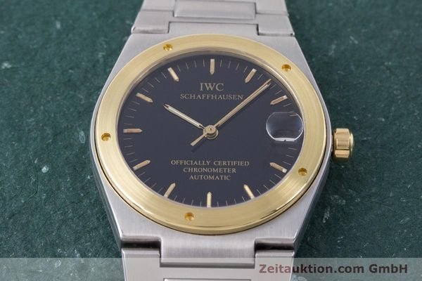Used luxury watch IWC Ingenieur steel / gold automatic Kal. 887 Ref. 3521  | 160478 17