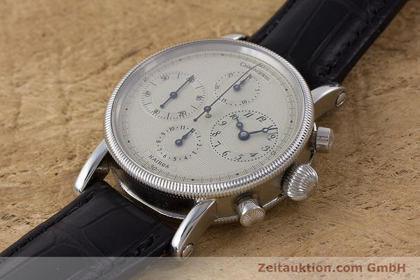 Used luxury watch Chronoswiss Kairos chronograph steel automatic Kal. 753 Ref. CH7523  | 160483 01