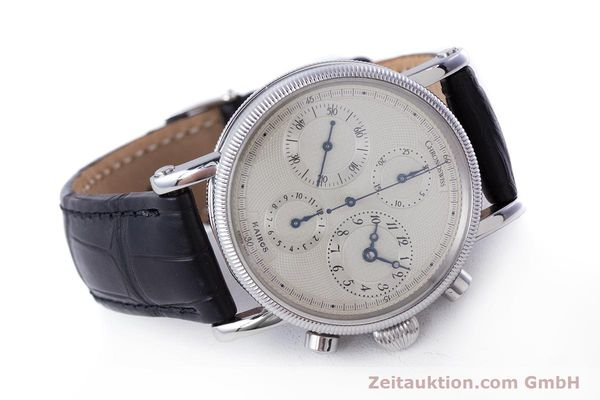 Used luxury watch Chronoswiss Kairos chronograph steel automatic Kal. 753 Ref. CH7523  | 160483 03