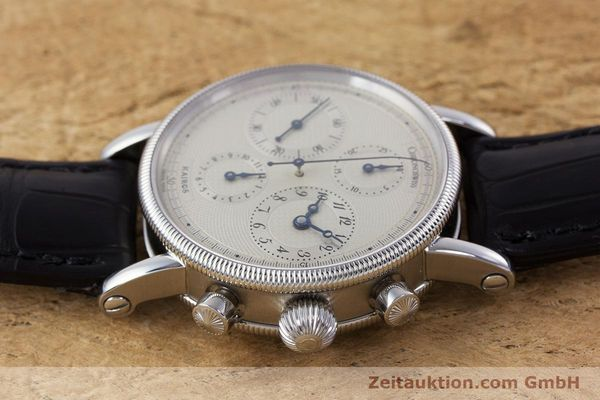Used luxury watch Chronoswiss Kairos chronograph steel automatic Kal. 753 Ref. CH7523  | 160483 05