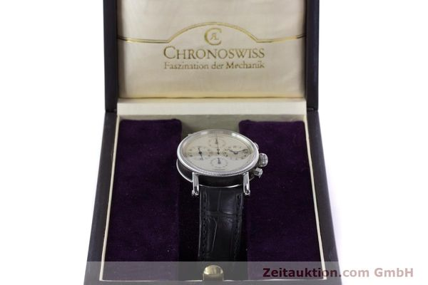 Used luxury watch Chronoswiss Kairos chronograph steel automatic Kal. 753 Ref. CH7523  | 160483 07