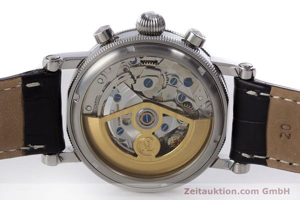 Used luxury watch Chronoswiss Kairos chronograph steel automatic Kal. 753 Ref. CH7523  | 160483 09
