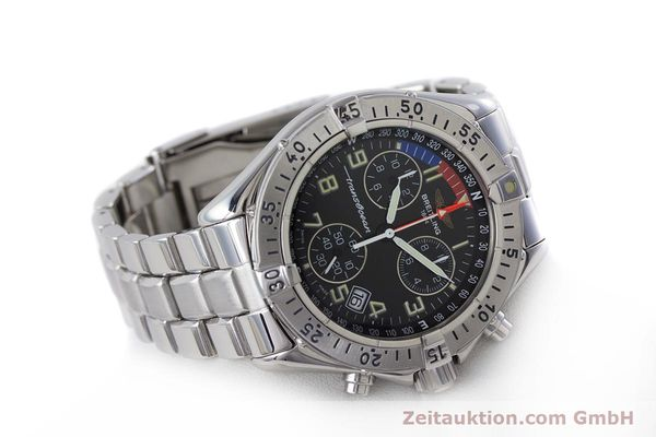 Used luxury watch Breitling Transocean chronograph steel quartz Kal. B53 ETA 251262 Ref. A53040.1  | 160521 03