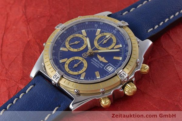 Used luxury watch Breitling Chronomat chronograph steel / gold automatic Kal. B13 ETA 7750 Ref. B13352  | 160531 01