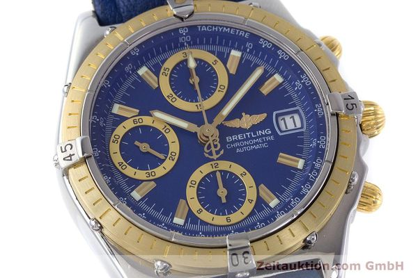 Used luxury watch Breitling Chronomat chronograph steel / gold automatic Kal. B13 ETA 7750 Ref. B13352  | 160531 02