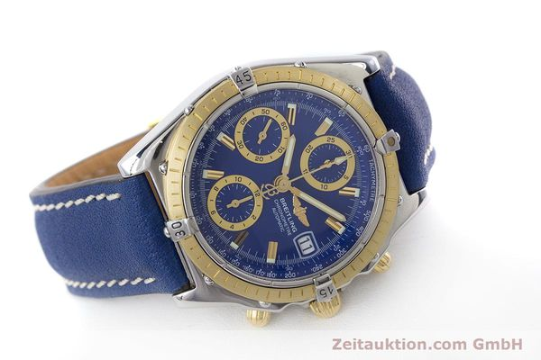 Used luxury watch Breitling Chronomat chronograph steel / gold automatic Kal. B13 ETA 7750 Ref. B13352  | 160531 03