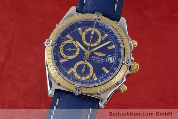 Used luxury watch Breitling Chronomat chronograph steel / gold automatic Kal. B13 ETA 7750 Ref. B13352  | 160531 04