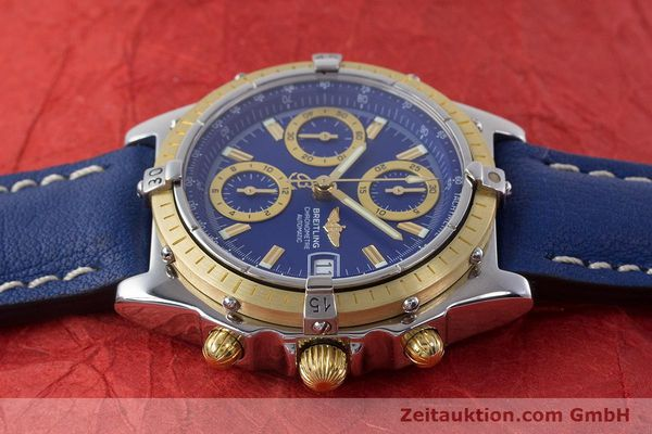 Used luxury watch Breitling Chronomat chronograph steel / gold automatic Kal. B13 ETA 7750 Ref. B13352  | 160531 05
