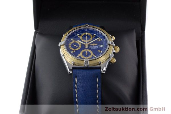 Used luxury watch Breitling Chronomat chronograph steel / gold automatic Kal. B13 ETA 7750 Ref. B13352  | 160531 07