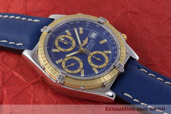 Used luxury watch Breitling Chronomat chronograph steel / gold automatic Kal. B13 ETA 7750 Ref. B13352  | 160531 14