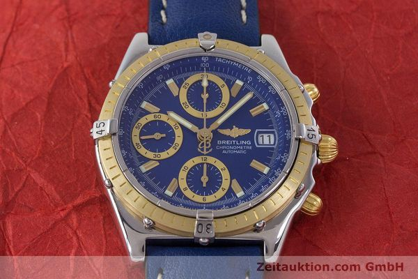 Used luxury watch Breitling Chronomat chronograph steel / gold automatic Kal. B13 ETA 7750 Ref. B13352  | 160531 15