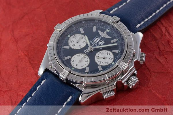 Used luxury watch Breitling Crosswind chronograph steel automatic Kal. B44 ETA 2892A2 Ref. A44355  | 160536 01