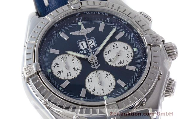 Used luxury watch Breitling Crosswind chronograph steel automatic Kal. B44 ETA 2892A2 Ref. A44355  | 160536 02