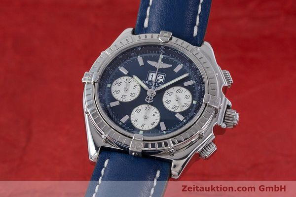 Used luxury watch Breitling Crosswind chronograph steel automatic Kal. B44 ETA 2892A2 Ref. A44355  | 160536 04