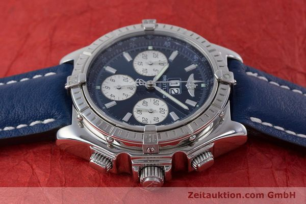 Used luxury watch Breitling Crosswind chronograph steel automatic Kal. B44 ETA 2892A2 Ref. A44355  | 160536 05