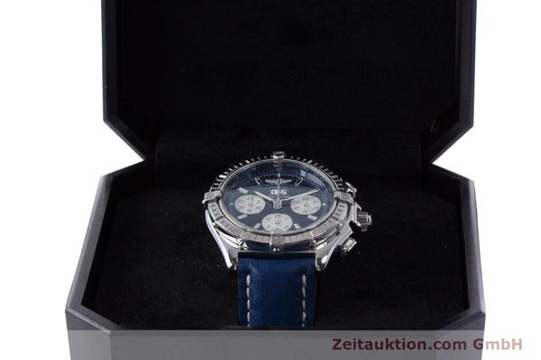 Used luxury watch Breitling Crosswind chronograph steel automatic Kal. B44 ETA 2892A2 Ref. A44355  | 160536 07