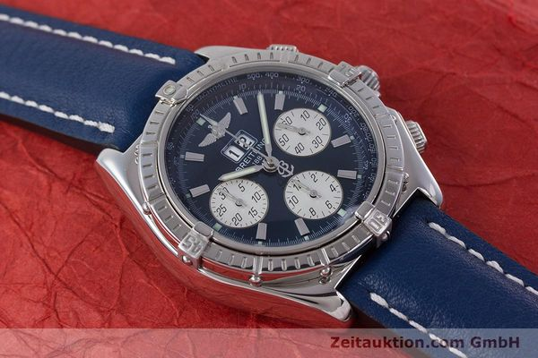 Used luxury watch Breitling Crosswind chronograph steel automatic Kal. B44 ETA 2892A2 Ref. A44355  | 160536 15