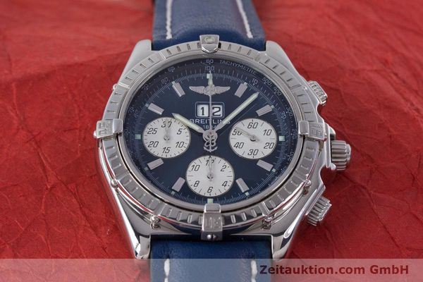 Used luxury watch Breitling Crosswind chronograph steel automatic Kal. B44 ETA 2892A2 Ref. A44355  | 160536 16