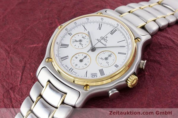Used luxury watch Ebel 1911 chronograph steel / gold automatic Kal. 134 Ref. 1134901  | 160541 01