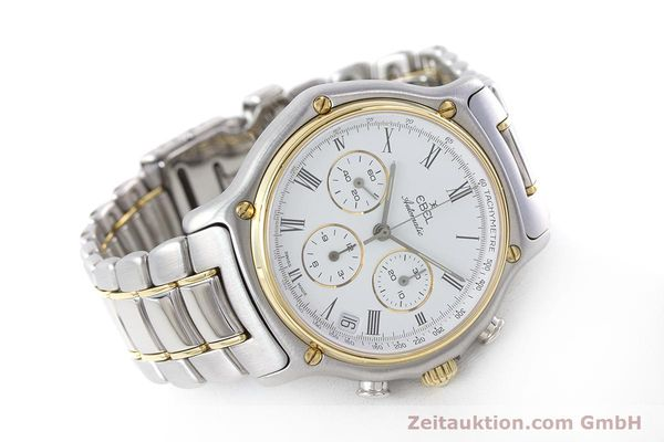Used luxury watch Ebel 1911 chronograph steel / gold automatic Kal. 134 Ref. 1134901  | 160541 03