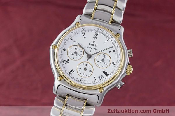 Used luxury watch Ebel 1911 chronograph steel / gold automatic Kal. 134 Ref. 1134901  | 160541 04