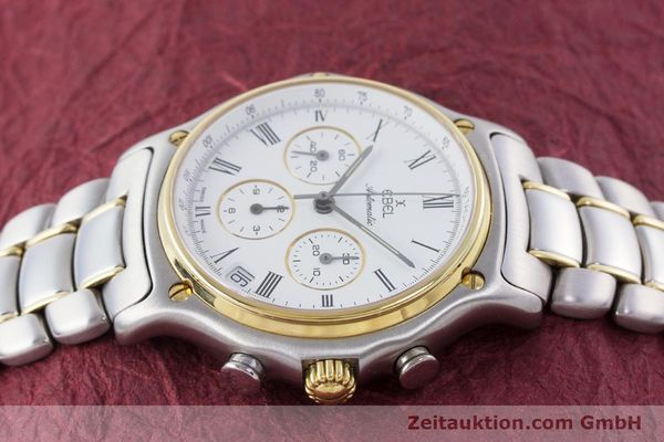 Used luxury watch Ebel 1911 chronograph steel / gold automatic Kal. 134 Ref. 1134901  | 160541 05