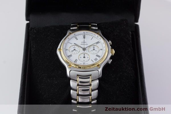 Used luxury watch Ebel 1911 chronograph steel / gold automatic Kal. 134 Ref. 1134901  | 160541 07