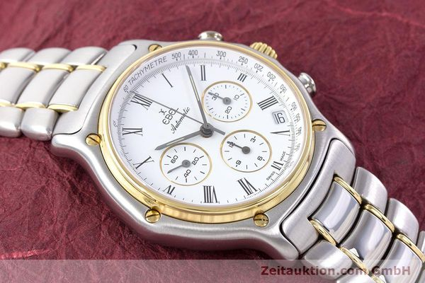 Used luxury watch Ebel 1911 chronograph steel / gold automatic Kal. 134 Ref. 1134901  | 160541 13