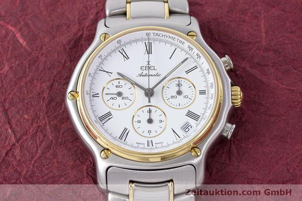 Used luxury watch Ebel 1911 chronograph steel / gold automatic Kal. 134 Ref. 1134901  | 160541 14