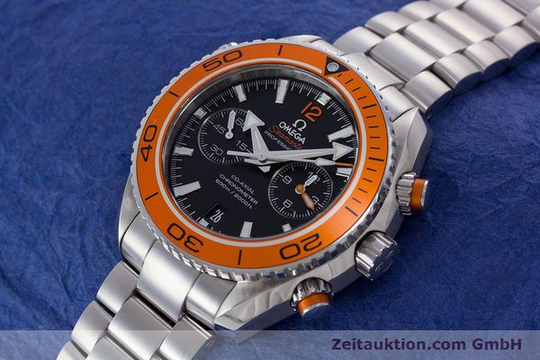 Used luxury watch Omega Seamaster chronograph steel automatic Kal. 9300 Ref. 23230465101002  | 160546 01