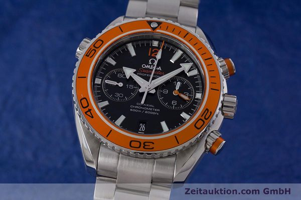 Used luxury watch Omega Seamaster chronograph steel automatic Kal. 9300 Ref. 23230465101002  | 160546 04
