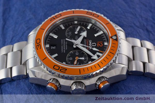 Used luxury watch Omega Seamaster chronograph steel automatic Kal. 9300 Ref. 23230465101002  | 160546 05