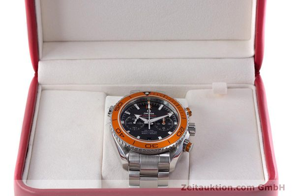 Used luxury watch Omega Seamaster chronograph steel automatic Kal. 9300 Ref. 23230465101002  | 160546 07