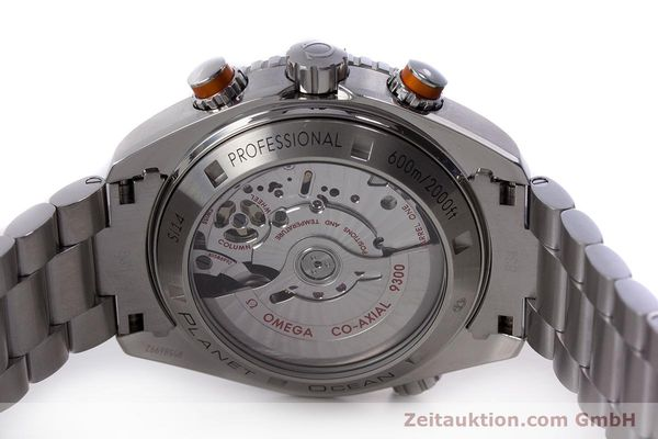 Used luxury watch Omega Seamaster chronograph steel automatic Kal. 9300 Ref. 23230465101002  | 160546 09