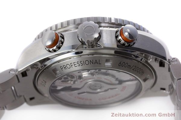 Used luxury watch Omega Seamaster chronograph steel automatic Kal. 9300 Ref. 23230465101002  | 160546 12