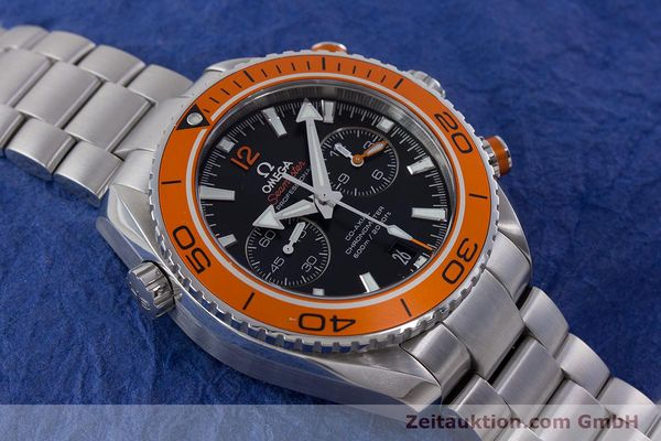 Used luxury watch Omega Seamaster chronograph steel automatic Kal. 9300 Ref. 23230465101002  | 160546 18