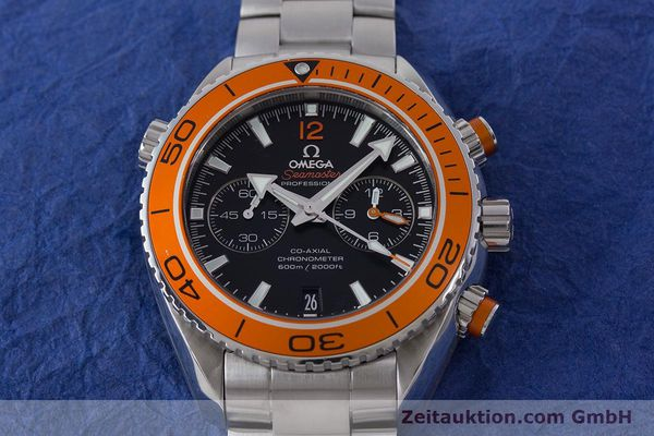 Used luxury watch Omega Seamaster chronograph steel automatic Kal. 9300 Ref. 23230465101002  | 160546 19