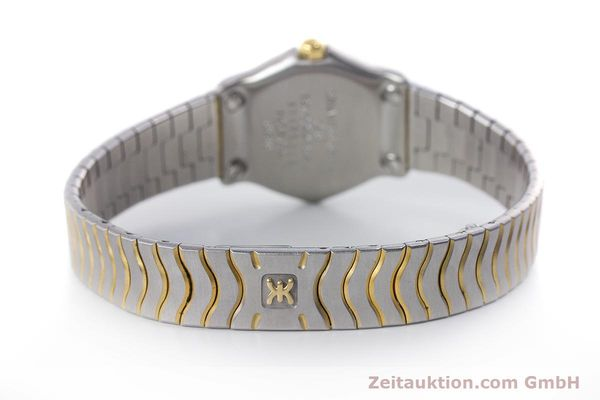 Used luxury watch Ebel Classic Wave steel / gold quartz Kal. 057 Ref. 1057902  | 160552 10
