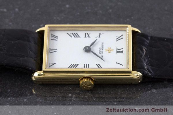 Used luxury watch Vacheron & Constantin * 18 ct gold manual winding Kal. 1052 VINTAGE  | 160558 05