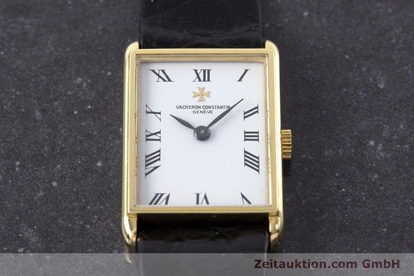 Used luxury watch Vacheron & Constantin * 18 ct gold manual winding Kal. 1052 VINTAGE  | 160558 16