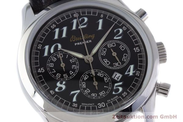 Used luxury watch Breitling Premier chronograph steel automatic Kal. B42 ETA 2892A2 Ref. A42035  | 160561 02