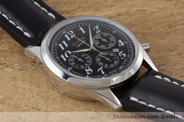 Used luxury watch Breitling Premier chronograph steel automatic Kal. B42 ETA 2892A2 Ref. A42035  | 160561 13