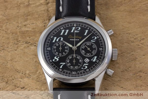Used luxury watch Breitling Premier chronograph steel automatic Kal. B42 ETA 2892A2 Ref. A42035  | 160561 14