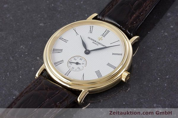 Used luxury watch Vacheron & Constantin * 18 ct gold manual winding Kal. 1014/1 Ref. 92238  | 160566 01